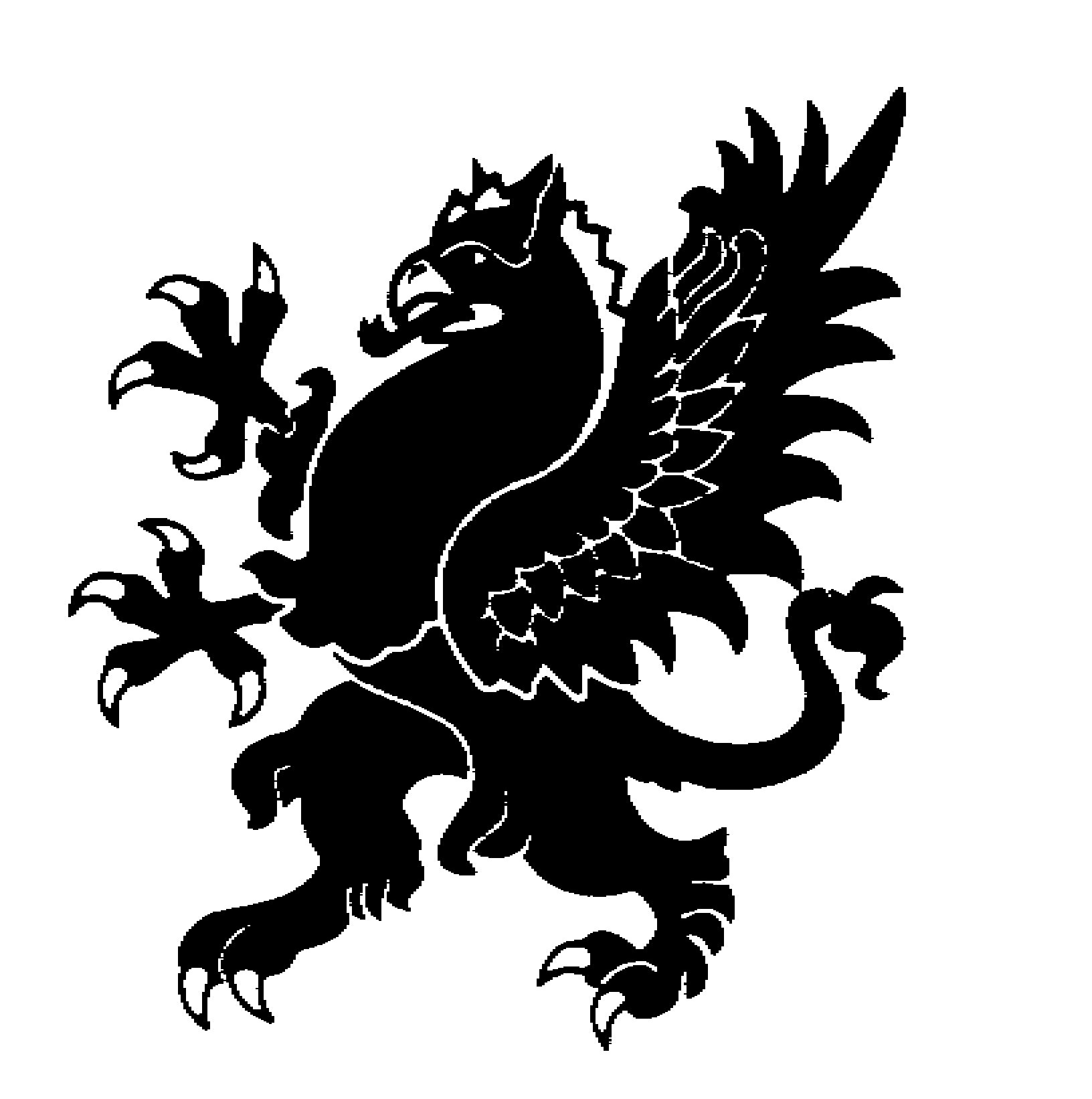 Lion Head Griffin http://jpreshaw.edublogs.org/school-emblem/